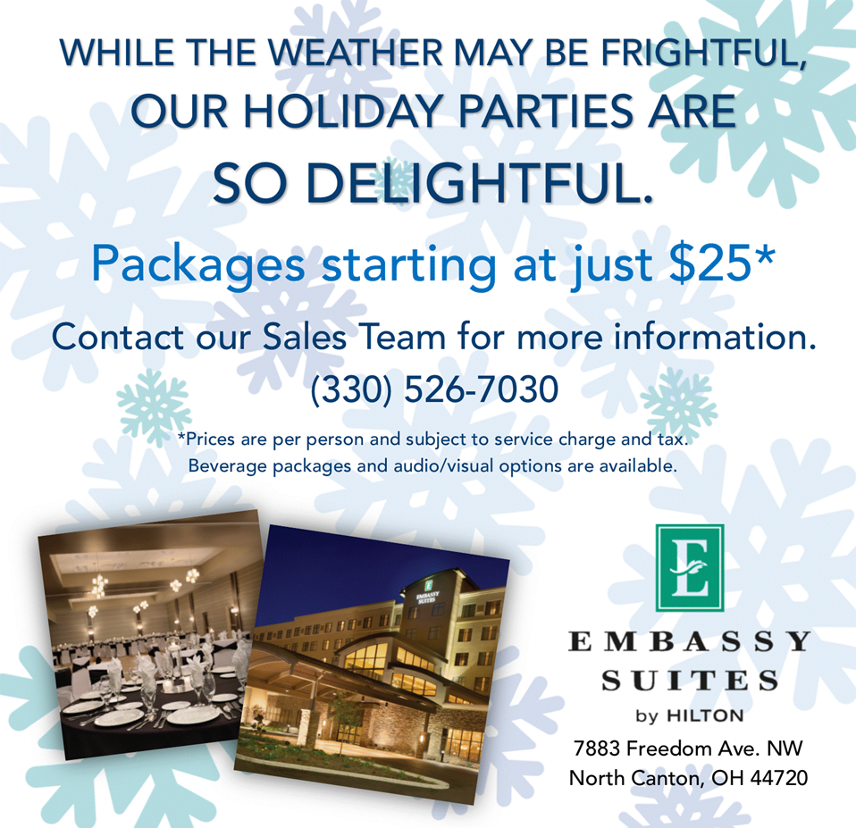 Embassy Suites Holiday Parties